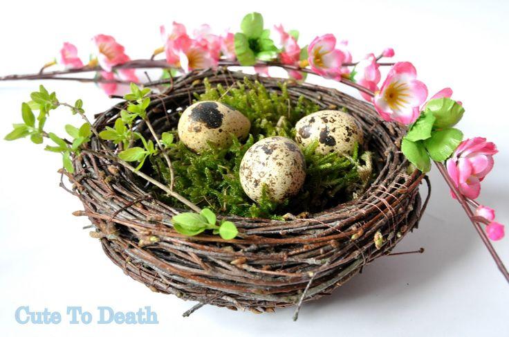 Cute To Death: Wielkanocne śniadanie... czyli pomysł jak stylowo ...