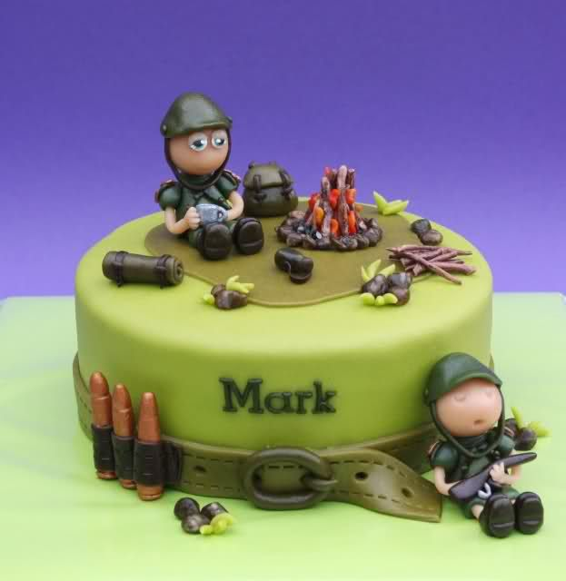 1000 Images About Army Cakes On Pinterest