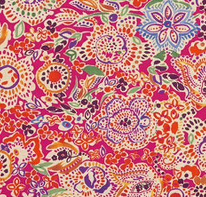Tessuto da tappezzeria / a fiori PAISLEY : DAXIKANÉ POT-POURRY etro