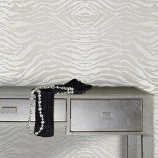 Papier peint intissé Zebra gris