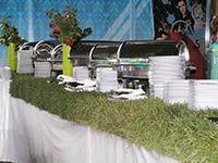 Оформление презентации Volkswagen GOLF VI в Лужниках