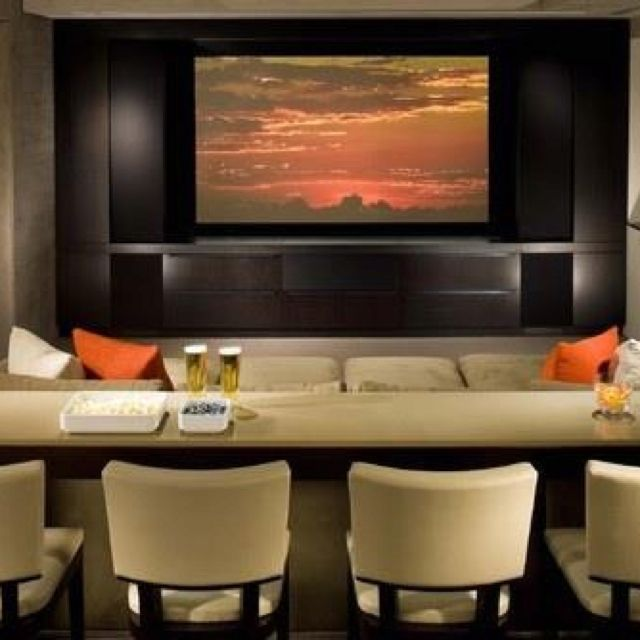 Change Your House With Home Theater Rooms : Media Room Decorating Ideas,  Media Room, Tv Room