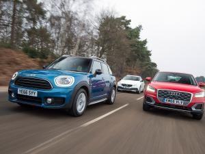 MINI Countryman vs Audi Q2 vs Volvo V40 Cross Country