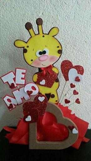 Resultado De Imagen Para Manualidades En Fomix Por San Valentin