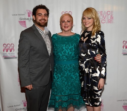 Emma Stone at Breast Cancer Foundation Benefit in New Jersey on May 21, 2013