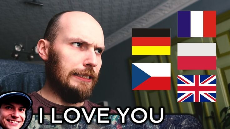 I love you in different languages by Polish guy