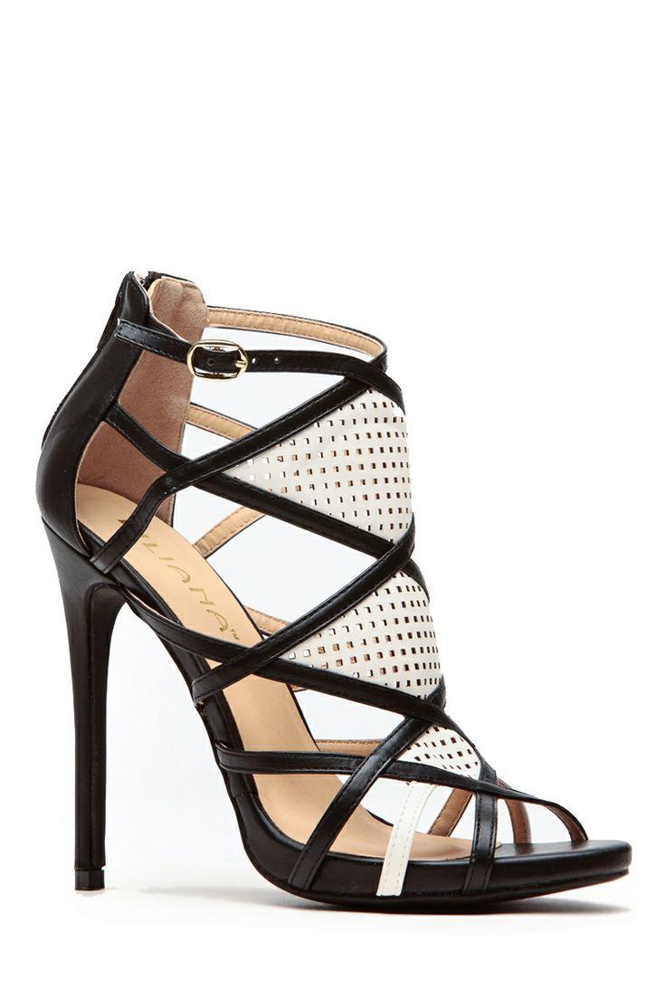 Black Modern Aztec Contrast Heels @ Cicihot Heel Shoes online store sales:Stiletto Heel Shoes,High Heel Pumps,Womens High Heel Shoes,Prom Shoes,Summer Shoes,Spring Shoes,Spool Heel,Womens Dress Shoes #prom shoes