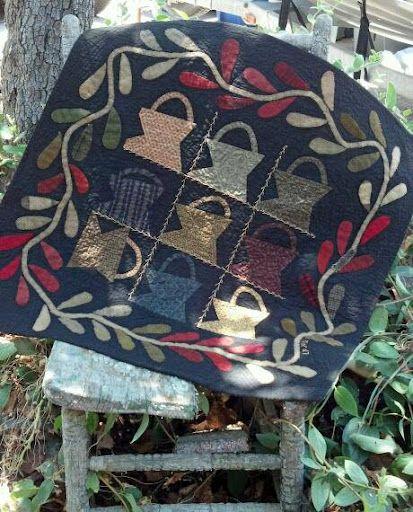 Cheri Payne - sweet primitive baskets