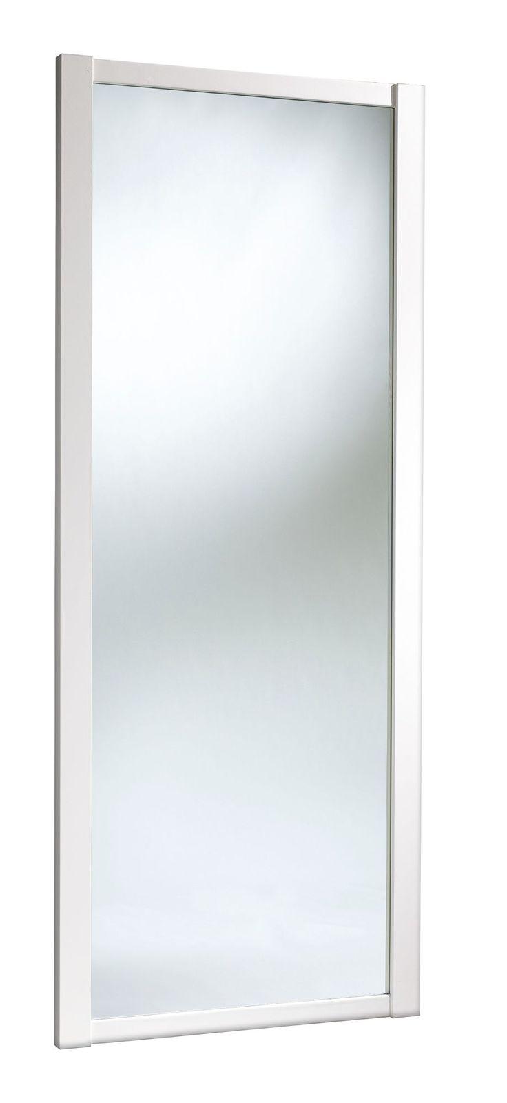 Traditional Full Length Mirror White Sliding Wardrobe Door (H)2.22 M (W)610 mm   Rooms   DIY at B&Q