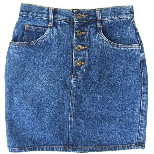 80s Jean Skirt High Waist Denim Mini Skirt 1980s BUTTON FLY Hipster... ($36) ❤ liked on Polyvore featuring skirts, mini skirts, denim skirt, high-waisted skirts, pencil skirt, high-waisted pencil skirts and short skirts