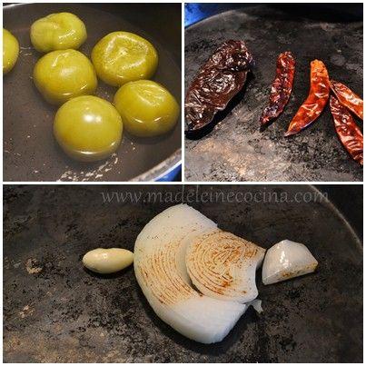 Cocinando los ingredientes de la salsa