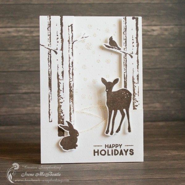 Winter Forest Card - Creative Scrapbooking