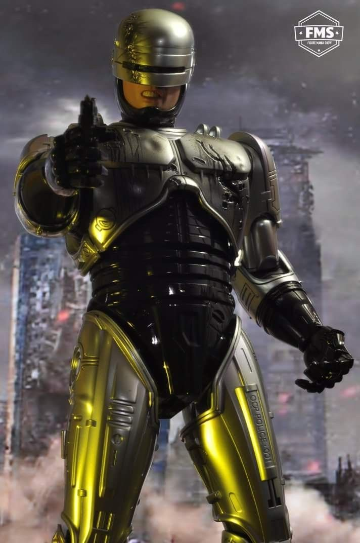 Robocop Dead Or Alive You Re Coming With Me Hot Toys Figure Toy