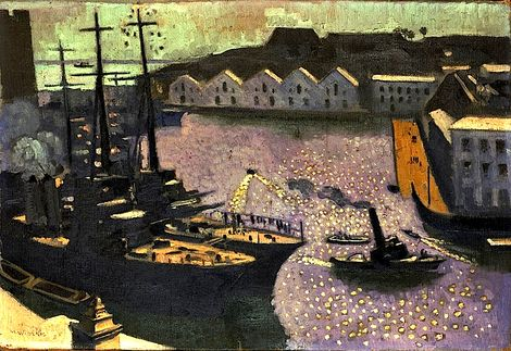 Maurice Denis, Le Port de Brest  on ArtStack #maurice-denis #art