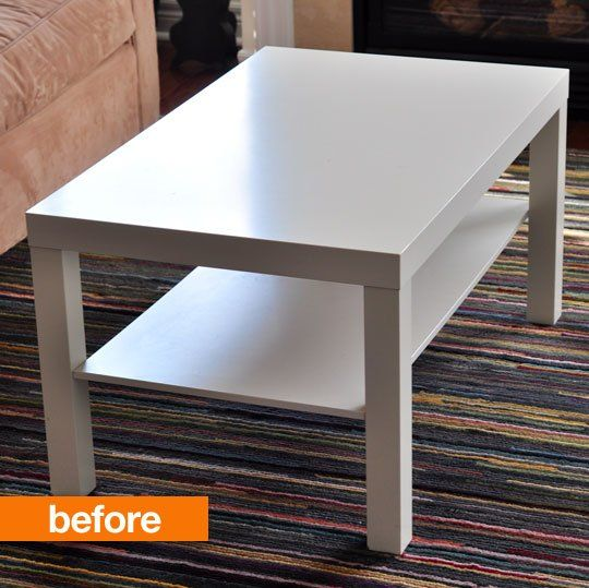 Before & After: Noelle's Painted IKEA LACK Hack