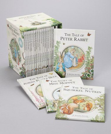 Take a look at this Complete Peter Rabbit Library Hardcover Set by Story Time Classics: Toys & Books on #zulily today!