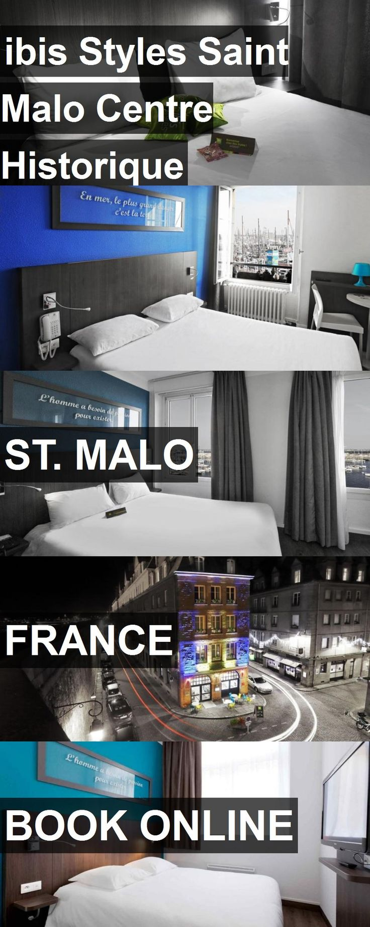 Hotel ibis Styles Saint Malo Centre Historique in St. Malo, France. For more information, photos, reviews and best prices please follow the link. #France #St.Malo #travel #vacation #hotel
