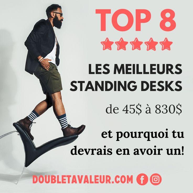 Travailler en alternant la position assise et debout peut être très bénéfique! Voilà notre top 8 des meilleurs bureaux à hauteur réglable
