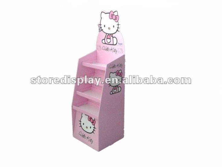 Hello kitty tarjeta de regalo display soporte para la publicidad, juguete de cartón display case, vasos de cartón cajas display mostrador superior,-imagen-Estantes de Expositor-Identificación del producto:653404746-spanish.alibaba.com