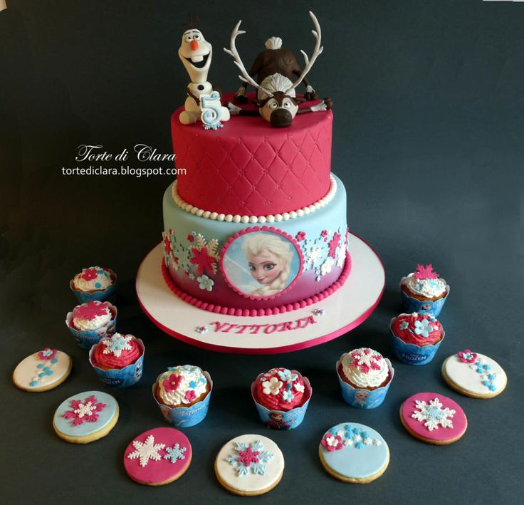 139 best Frozen Disney Cake Cookie Ideas images on Pinterest