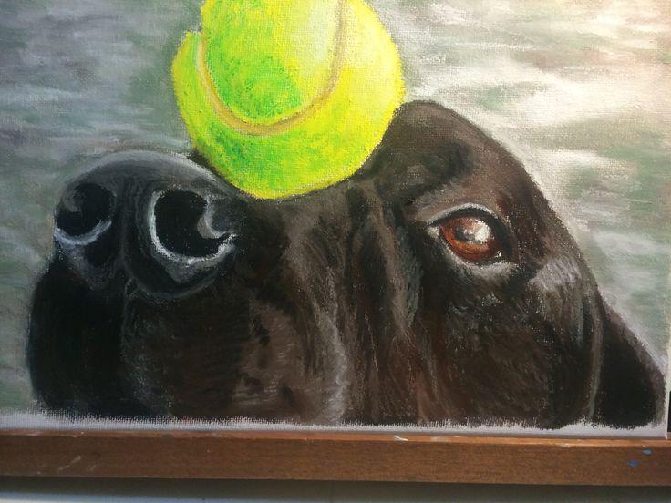 Oil pastel on canvas 2014