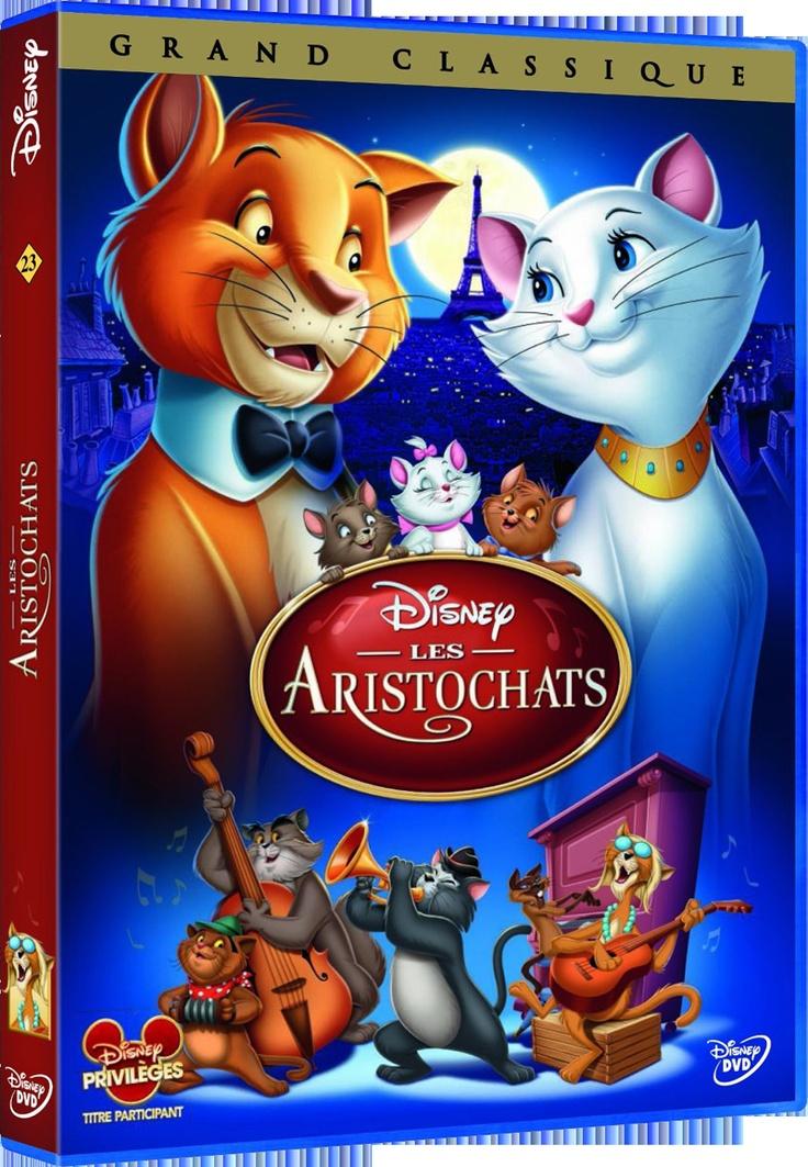 DVD LES ARISTOCHATS - Créez votre board « Liste Magique de Noël Disney », épinglez-y 20 produits maximum qui viennent de notre board « Liste Magique de Noël Disney ». Chaque jour un « cadeau du jour » est à gagner par tirage au sort. Le 21 Décembre, celui qui aura le plus de like sur son board « Liste Magique de Noël Disney » gagnera la totalité de son board. - http://www.disney-television.com/reglement-pinterest-Noel-Disney.pdf -  #NoelDisney