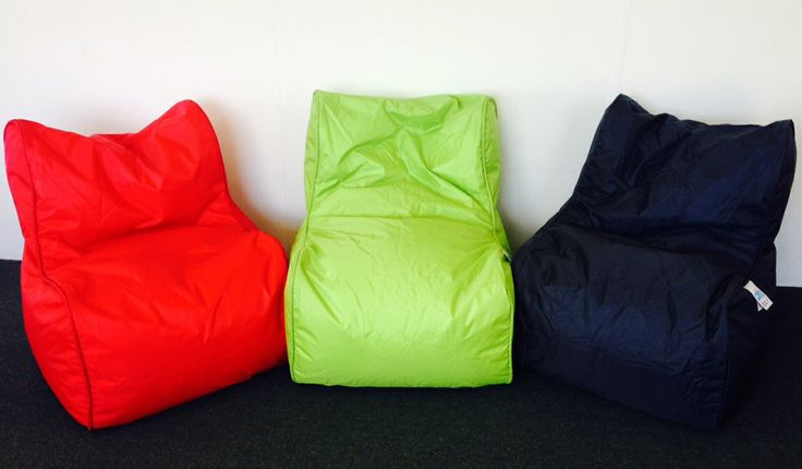 Outdoor Bean Bags - Colour Pop! Weatherproof - great for around the dancefloor! www.albanyeventhire.com.au