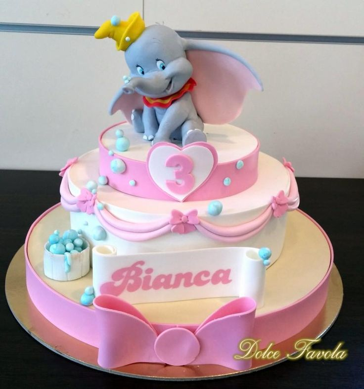 Dumbo cake <3 - Cake by simonelopezartist