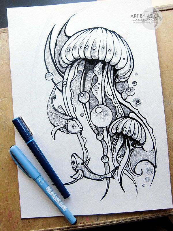 Tattoo sketch, dotwork.desing. by Alisa Gornostaeva, via Behance