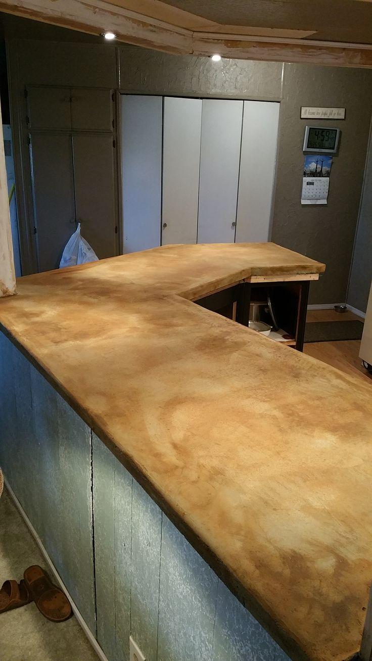 Pre Sealer. Concrete CountertopsConcrete Overlay Countertops