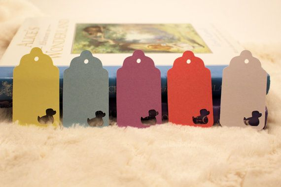 Duck Gift Tags  Perfect for Baby Showers by SillyLoveSongCustoms