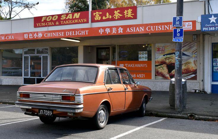 https://flic.kr/p/Ufr5Dp   Foo San   An old family favourite restaurant with an often seen 1978 Hillman Hunter outside.