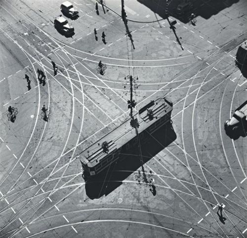 Max Dupain - Tram Abstraction, 1930s