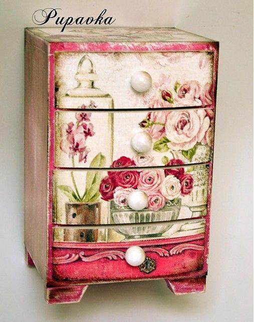 Maison de fleurs by bibidekoracie - SAShE.sk - Handmade Dekorácie