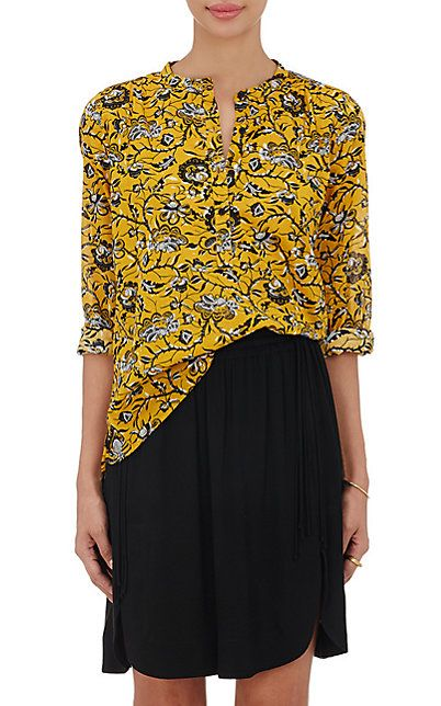 We Adore: The Amaria Voile Blouse from Isabel Marant Étoile at Barneys New York