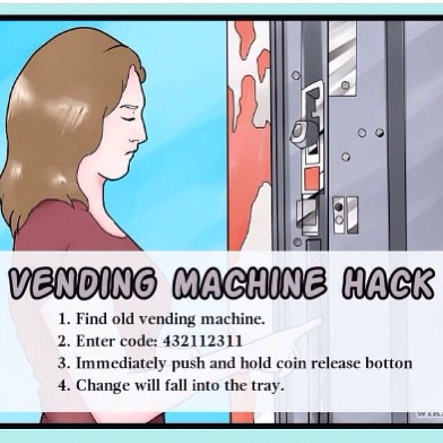 how to hack a drink machine