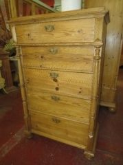 Victorian Eastern European Pine Chest of Drawers