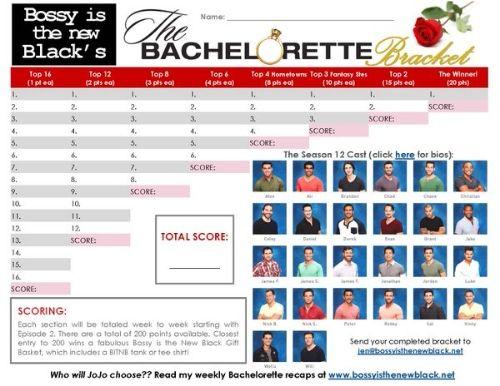 The Bachelorette Season 12 Bracket Challenge: Download Now! http://www.bossyisthenewblack.net/bachelor-recaps/2016/5/27/the-bachelorette-season-12-bracket-challenge-download-now
