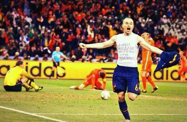 Gol de Iniesta #Mundial2010
