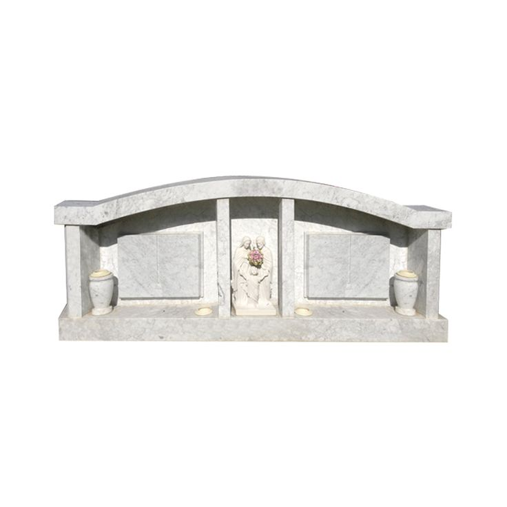 Chapel Shaped Headstone designed by Forever Shining.