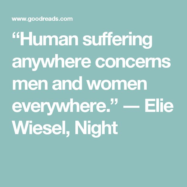 The 25+ best Elie Wiesel Quotes ideas on Pinterest | Night quotes ...