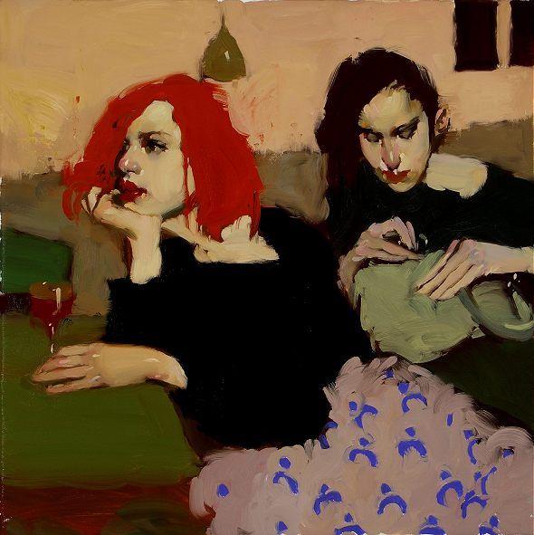 Milt Kobayashi Title:  A Moment to Herself Medium: Original Oil on Canvas  Medium: Original Oil on Canvas