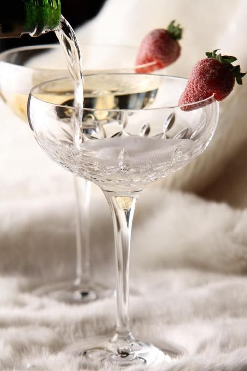 Champagne & Strawberries....Perfect!