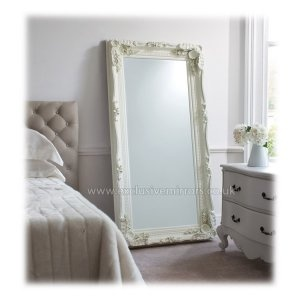 Large Cream 'Henry' Full Length Mirror 175 x 89cm [EE369] - £191.20 - Mirrors for Every Interior from Exclusive Mirrors