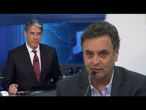Laranjeiras do Sul Noticias: William Bonner Aécio Neves é denunciado ao STF por...