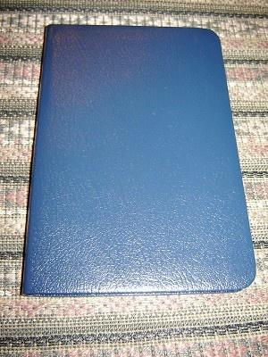 Hungarian New Testament Pocket Size / Ujszovetseg forditotta Karoli Gaspar / Veritas Ujonnan Revidealt Probakiadas / Leather Cover, Gray Edges