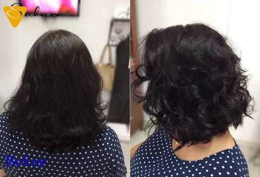 Nem muito curto, nem muito longo, os cabelos ficam na altura dos ombros e se parece com o clássico Chanel.  #itajai #santacatarina #amamosoquefazemos #amei #bobhair #haircuts #hair #haircutbysakura #cortedecabelo #tendencia2016