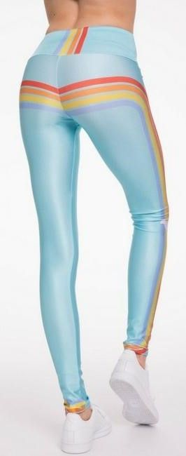 c20396e8d4915 Pin by simplyworkout on Leggings for Barre, Pilates and Yoga   Yoga leggings,  Blue tights, Workout leggings