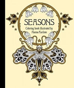 Seasons Coloring Book (Hanna Karlzon) (Hardcover) Kniha