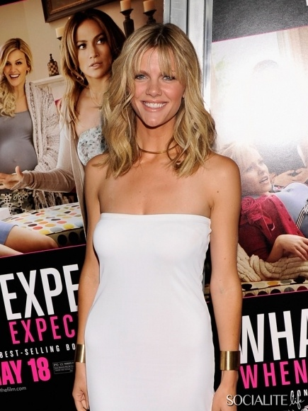 """Brooklyn Decker at a NYC screening of 'What To Expect When You're Expecting"""". May 8, 2012"""